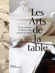livre les arts de la table Jacqueline Queneau