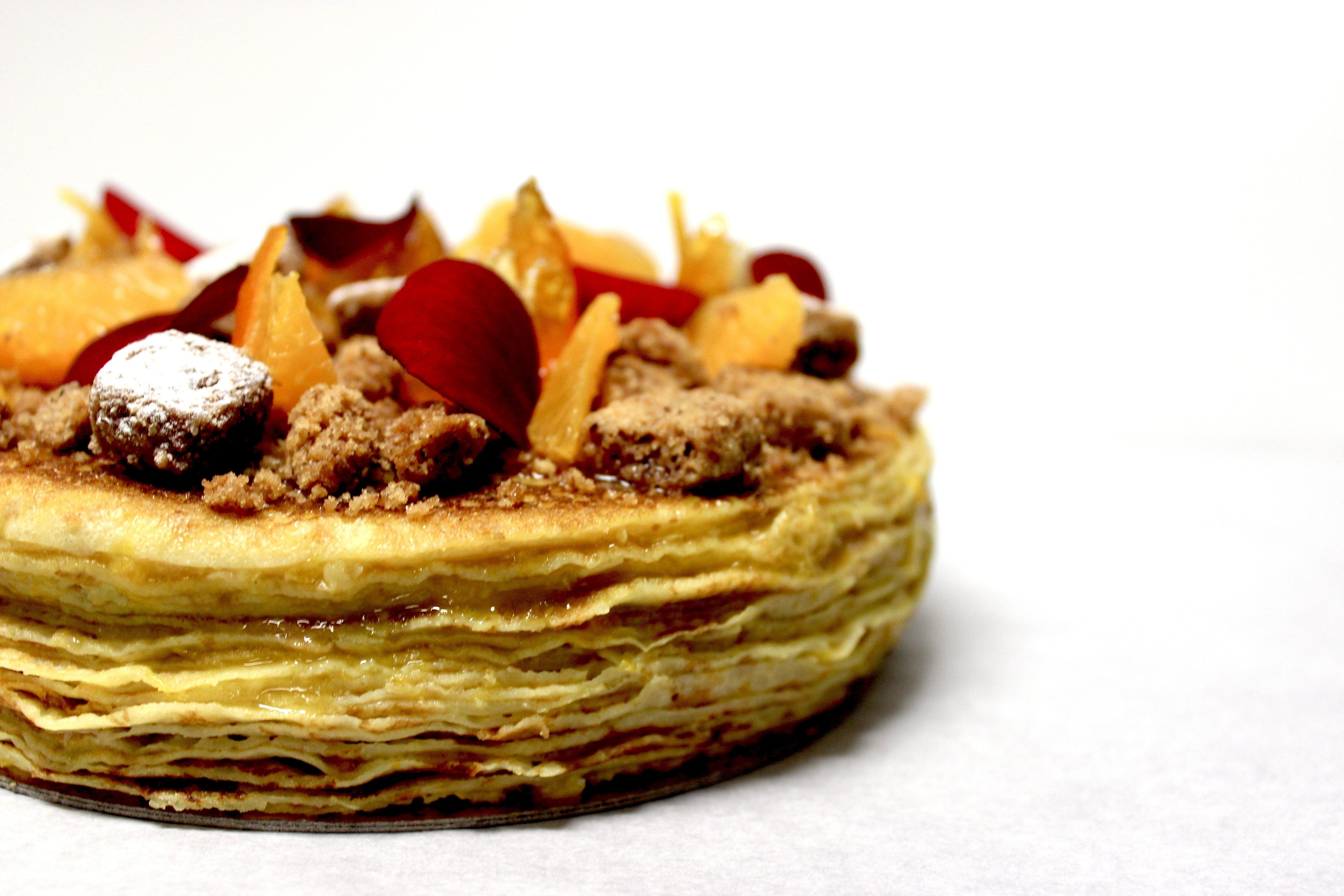 Chandeleur Gâteau de crêpes