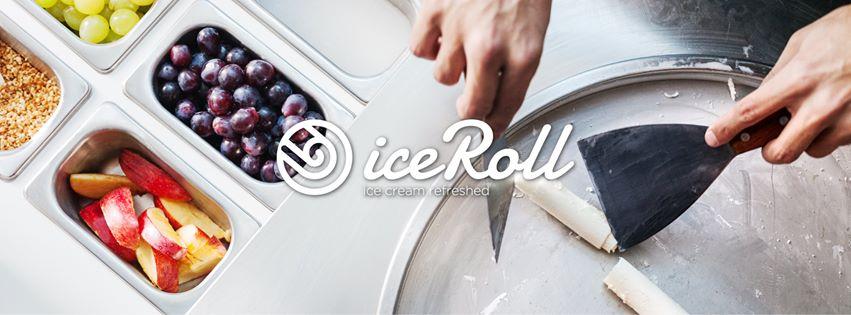 crème glacée roulée