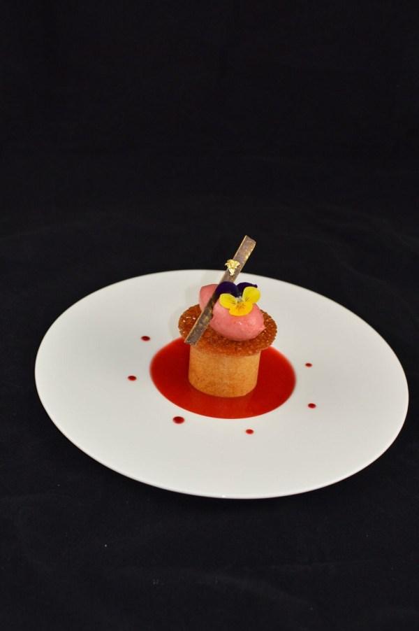 dessert assiette fraise