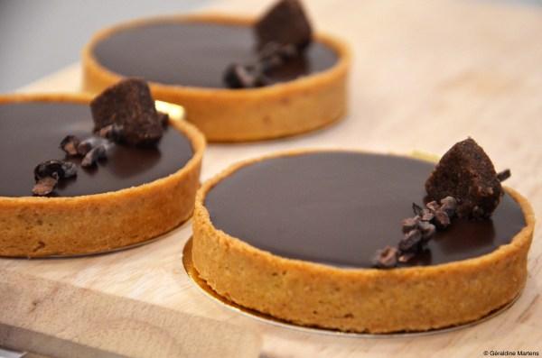 tarte chocolat facile