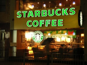 Café starbucks Etats-Unis