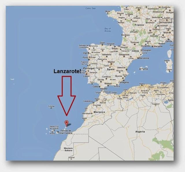 Lanzarote une des Iles des Canaries (Espagne)