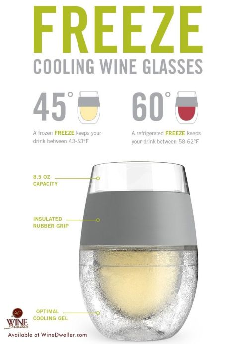 vin glacé été