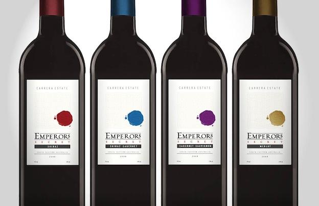 bouteille de vin design
