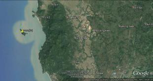 တ္ကအ်ကောန်လုံ (Google Earth)