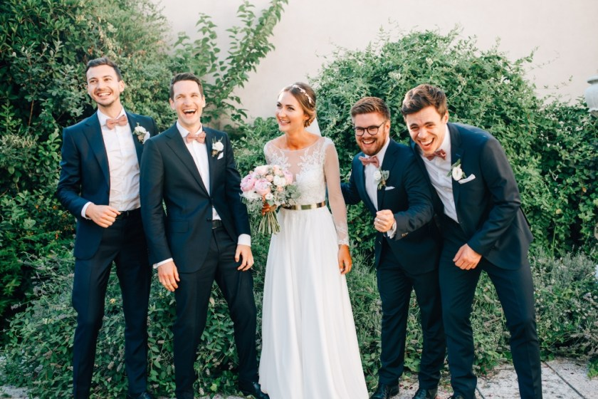 Sharing This Big Day With Our Friends And Family Was A Beautiful Feeling After Hugging All Of Guests The Ceremony It Time For Aperol