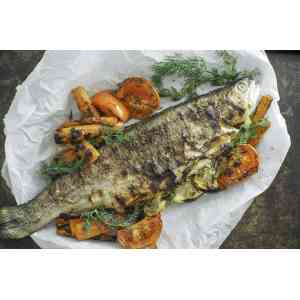 Astonishing Grilled Lemon Herb Trout Grilled Lemon Herb Trout Monday Is Meatloaf Grilled Trout Recipes Jamie Oliver Grilled Whole Trout Recipes