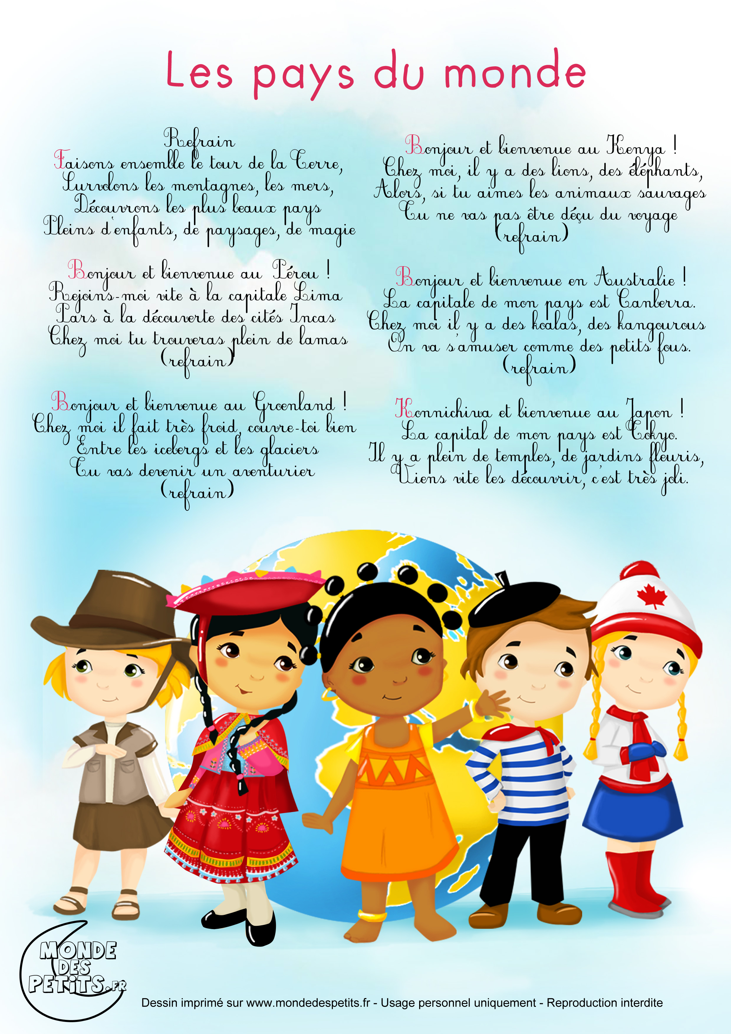 French stories for kids on youtube le monde des petits for Le journal du pays d auge