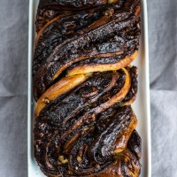 Chocolate Krantz Cake (from Jerusalem Cookbook)