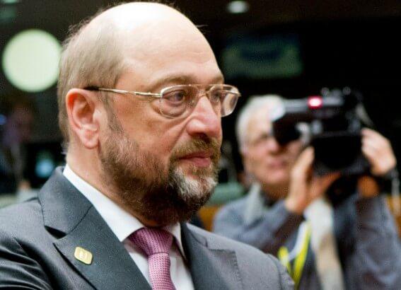 EU-Parlament President Martin Schulz Knesset 12. Februar 2014, 02:50