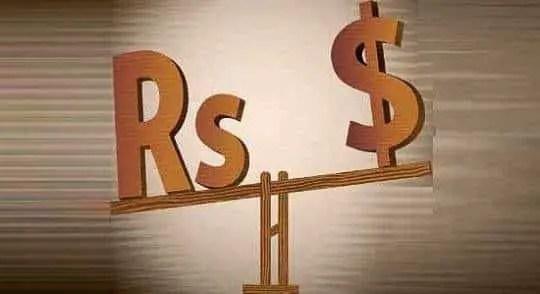 IndianRupeevsUSDollar