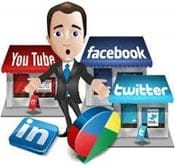 manage social media accounts