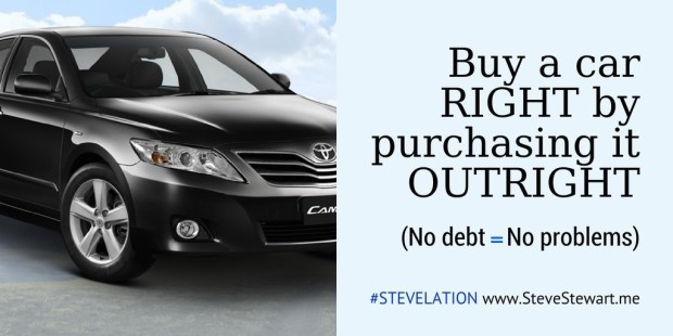 buy a car outright t