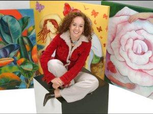 Artist Monika Ruiz