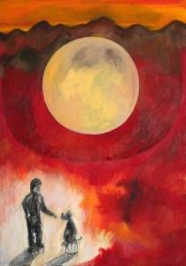 Monika Ruiz Art - Jay & Boo in Mars