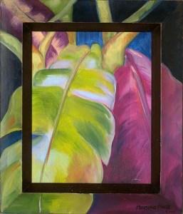 Monika Ruiz Art - Lilac Green