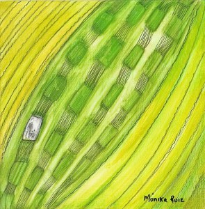 Monika Ruiz Art - Jay & Boo Series - Boo In Cell Block