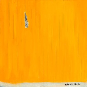 Monika Ruiz Art - Boo Hanging In There