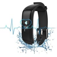 Bietia Fitness Tracker Smart Wristband, App – IP67 Water Resistance / Bluetooth 4.0, Blood pressure Monitor and Heart Rate Monitor, Compatible with Android and IOS
