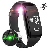 Mailiya Fitness Tracker Watch Heart Rate Monitor Activity Wristband Pedometer Sleep Monitor Smart Bracelet Calories Track Step Track Health Band Waterproof Smart Watch for iPhone & Android phones