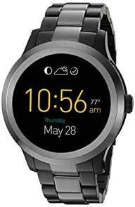Fossil Q Founder Gen 2 Touchscreen Two-Tone Gunmetal Stainless Steel Smartwatch