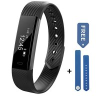 Fitness Tracker Watch – Aeifond Waterproof Sweatproof Activity Tracker Sports Smart Bracelet Wristband with Slim Touch Screen Pedometer Sleep Monitor Call Message Reminder for Android iOS