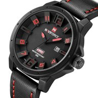 Zeiger Mens Watch Unusual Military Sport Wrist Watch, Forces Marine Corps Swiss Army, 3D Big face (Black)