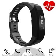 Tagital Fitness Tracker Smart Watch Smart Bracelet Band Heart Rate Monitor Bluetooth Wireless HR Wristband Pedometer Track Steps Sleep for iPhone and Android
