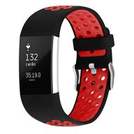 For Fitbit Charge 2 Bands, Soft Silicone Adjustable Replacement Sport Strap Bands for Fitbit Charge 2 Smartwatch Fitness Wristband Red Small