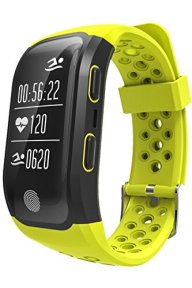 GPS Sports Watch Heart Rate Monitor Bluetooth Fitness Smart Bracelet