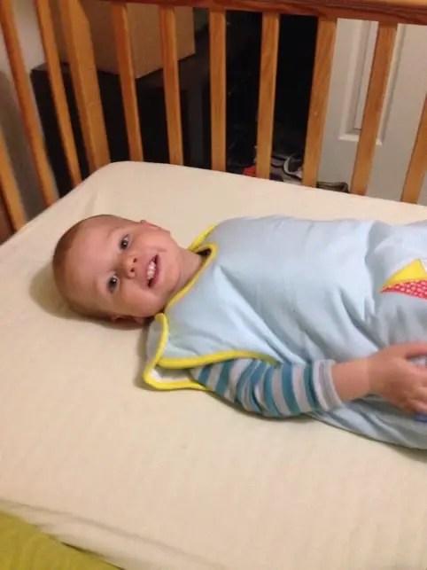Cosleeping baby sleeping bag