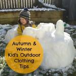 Autumn/ Winter Outdoor Clothing Tips for Small Children