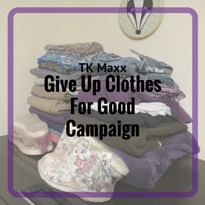 Give Up Clothes for Good Campaign
