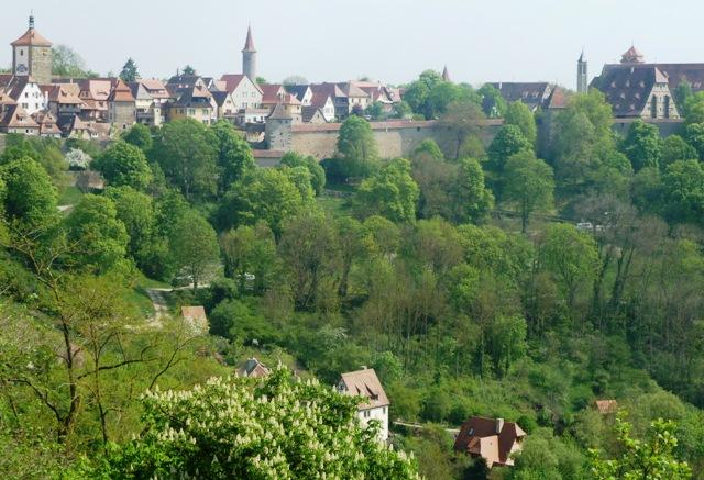 Rothenburg photos view of town