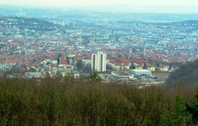 View from Birkenkopf Stuttgart, Germany