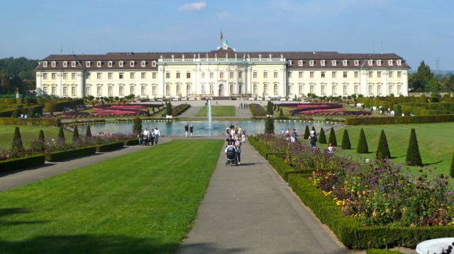 Ludwigsburg castle, where the pumpkin festival is held