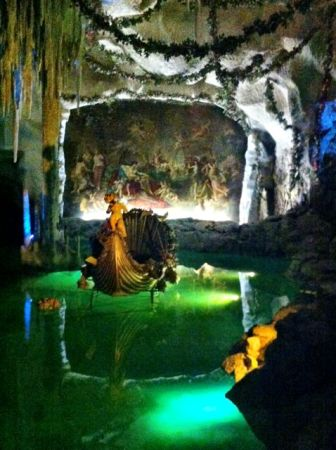 Venus Grotto handmade just for King Ludwig II
