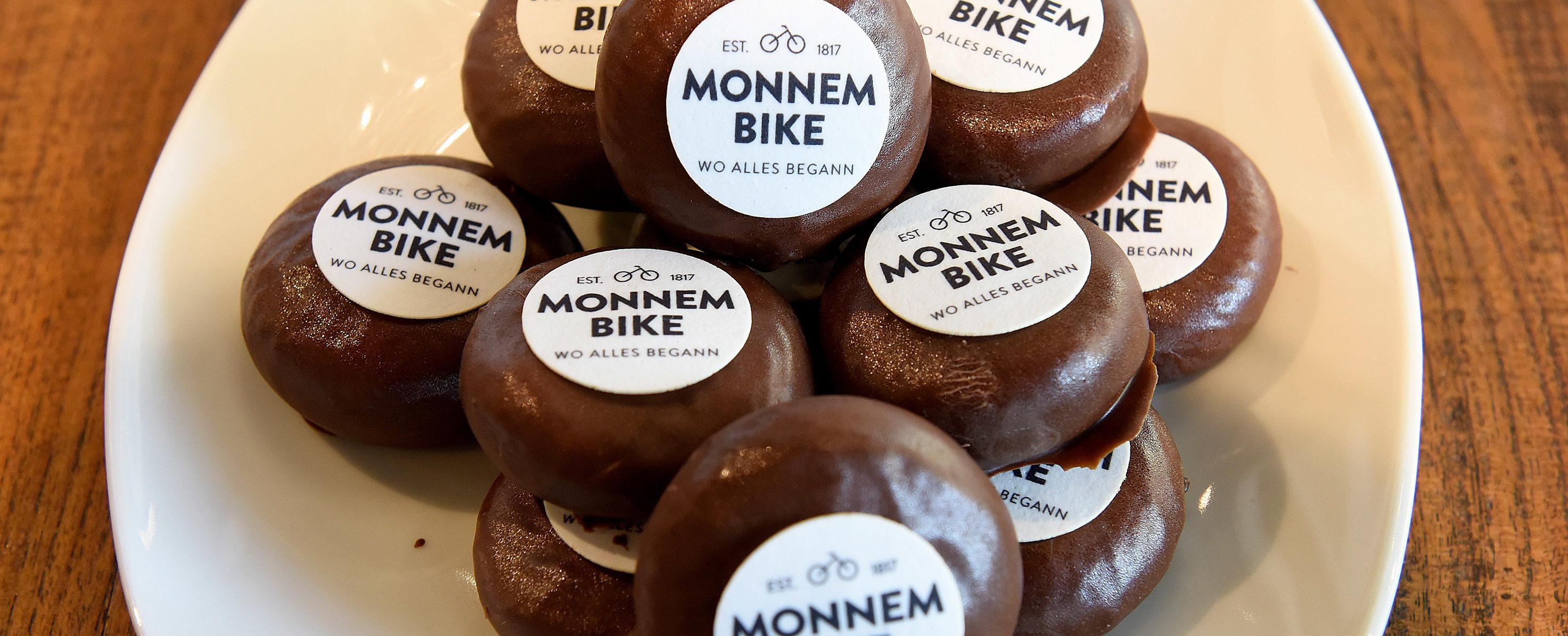 Monnem-Bike-Taler von der Baeckerei Grimminger Foto Thomas Troester