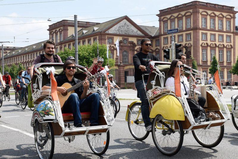 Radsalon und Radparade 2015 Foto Thomas Troester