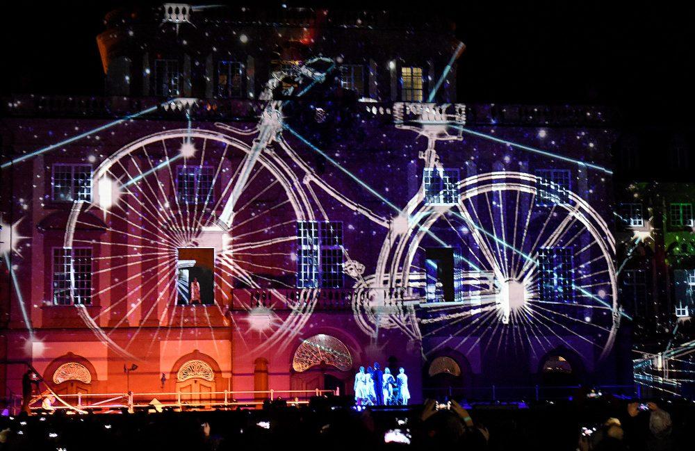Sternfahrt und Monnem-Bike-Show Foto Thomas Troester