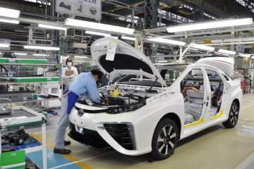 Toyota Mirai fabricação