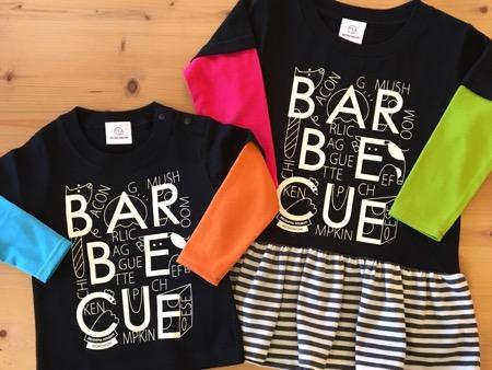 親子おそろい 出産祝い カスタマイズ セミオーダー 重ね着風ロンT おそろい キッズおそろい Tシャツ ワンピース