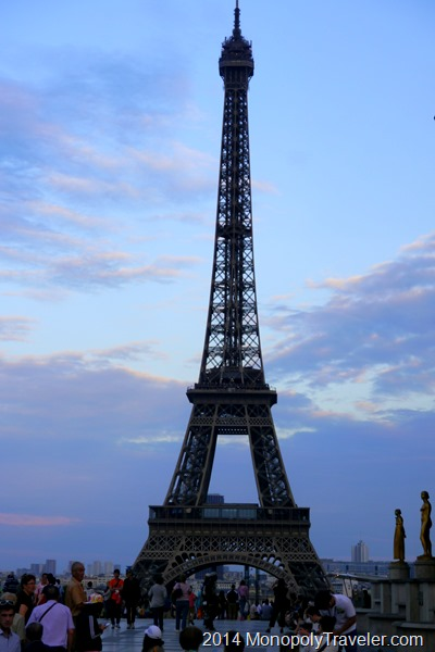 The Eiffel Tower in France