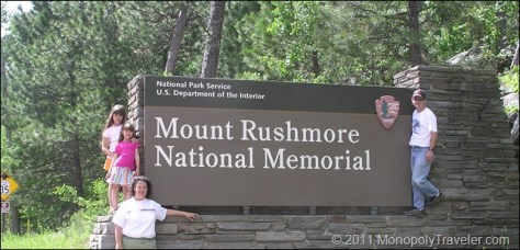 Mt. Rushmore Entrance
