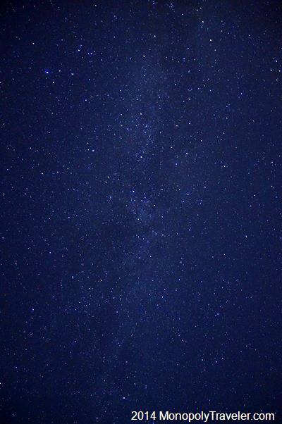 The Milky Way From Overhead