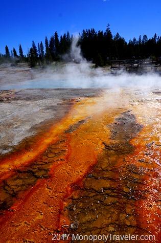 Black Pool near Yellowstone Lake