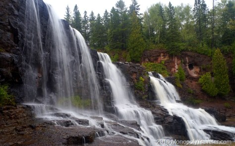 Gooseberry Falls in the summer