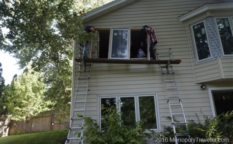 Putting in windows