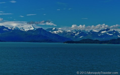 Mountains Surrounding Glacier Bay